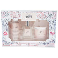 Philosophy Amazing Grace Holiday Set 3pc