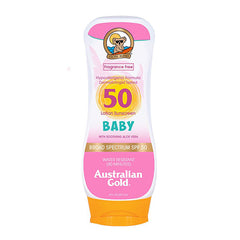 AUSTRALIAN GOLD BABY LOTION SPF50-8 OZ.