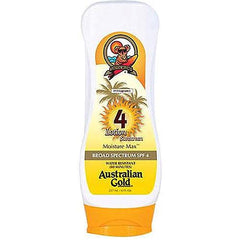 AUSTRALIAN GOLD LOTION WITH MOISTURE MAX SPF4-8 OZ