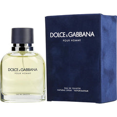 Dolce And Gabbana Classic Men`s Eau De Toilette Spray 1.33 oz