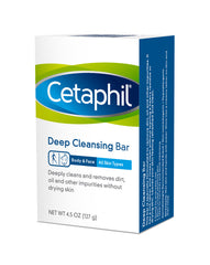 Cetaphil Deep Cleansing Bar 4.5 Oz