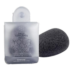 Daily Concepts Your Konjac Sponge-Charcoal