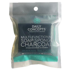 Daily Concepts Multifunctional Soap Sponge-Charcoal