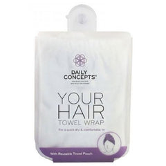 Daily Concepts Daily Hair Wrap Towel
