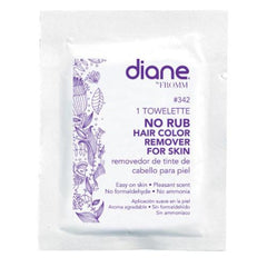 Diane No Rub Hair Color Remover Foil Packs 72ct