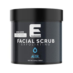 Elegance Facial Scrub Mint 16.9 oz