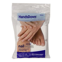 Graham Hands Down Nail Wipes 200 ct