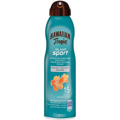 Hawaiian Tropic Continuous Spray Island Sport Spf15 6oz