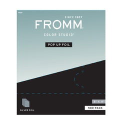 Fromm Pop Up Foil 5 in x 11 in Silver 500pk