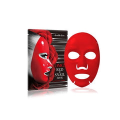 Cailyn Cosmetics Double Dare Omg! Red + Snail Mask