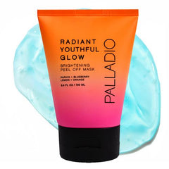 Palladio Radiant Youthful Glow Brightening Peel Off Mask 3.4 Oz
