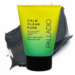 Palladio Calm Clean Pure Detoxifying Charcoal Mask 3.5 Oz