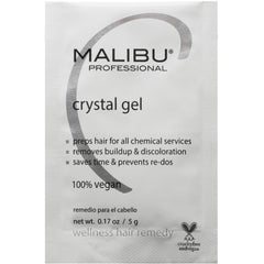Malibu C Crystal Gel Wellness Remedy Packette .17 oz