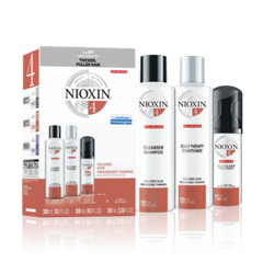 NIOXIN SYSTEM 4 KIT 3 PIECE FOR FINE CHEMICALLY TREATED HAIR