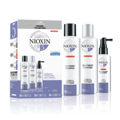 NIOXIN SYSTEM 5 KIT 3 PIECE for chemically-treated hair with light thinning