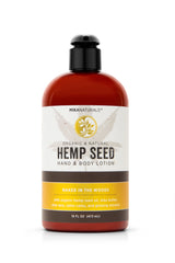 Mika Naturals Hemp Seed Hand + Body Lotion Naked In The Woods 16 Oz