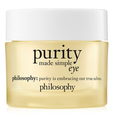 Philosophy Purity Made Simple Eye Gel .5 Oz