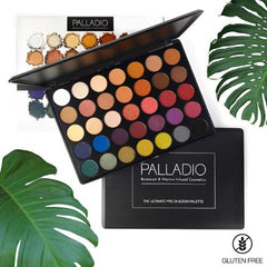 Palladio The Ultimate Palette 35 Shade Eyeshadow Palette