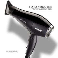 Izutech Toro X4000 Pro Hair Dryer-black