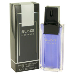 Alfred Sung Sung Homme Men`s Eau De Toilette Spray 1.7 oz