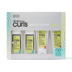 Zotos All About Curls Starter Kit 4-pc
