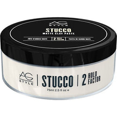 AG Hair Style Stucco Matte Clay Paste 2.5 Oz