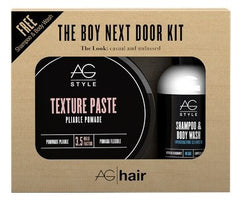AG Hair The Boy Next Door Kit Texture Paste Duo