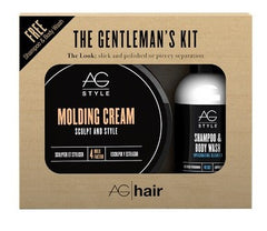AG Hair The Gentlemans Kit Molding Cream Duo