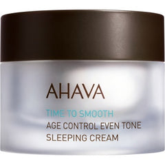 Ahava Age Control Even Tone Sleeping Cream 1.7 Oz