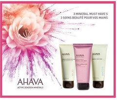 Ahava Hand Cream Trio