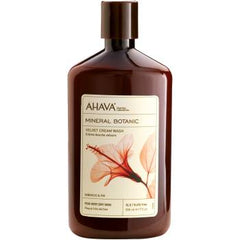 Ahava Mineral Botanic Cream Wash Hibiscus And Fig 17 Oz