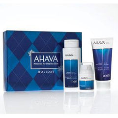 AHAVA MINERAL COLLECTION FOR MEN 3 PC $55 VAL