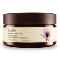 AHAVA RICH BODY BUTTER-LOTUS AND CHESTNUT 8 OZ