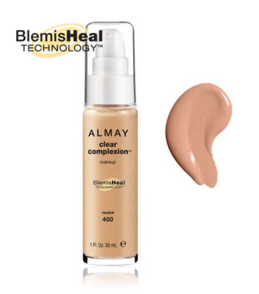 6dc042f46 ALMAY CLEAR COMPLEXION LIQUID MAKE-UP SAND 4947-06 – Image Beauty
