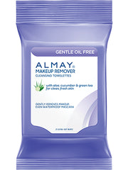 Almay Gentle Oil-Free Cleansing Towelettes 25 Count