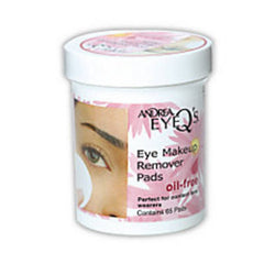 ANDREA EYE Qs MAKE UP REMOVER PADS-OIL FREE 65 PADS
