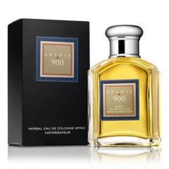 ARAMIS 900 MEN`S HERBAL EAU DE COLOGNE NATURAL SPRAY 3.4 OZ