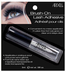 ARDELL BRUSH ON LASH ADHESIVE CLEAR .18 OZ.