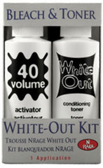 ARDELL N RAGE BLEACH AND TONER WHITE-OUT KIT 1 APPLICATION