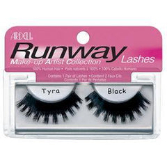 ARDELL RUNWAY EYE LASH TYRA BLACK 65006