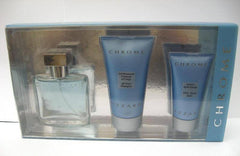 AZZARO CHROME MEN`S HOLIDAY SET 3-PIECE