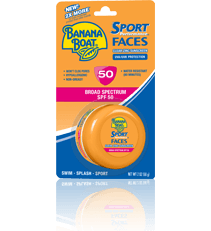 Banana Boat Faces Sport Zinc Clear SPF50 2 Oz