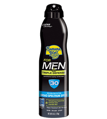 Banana Boat For Men Clear Ultra Mist SPF30 6 Oz