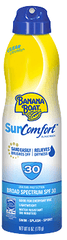 Banana Boat SunComfort SPF 30 Continuous Spray 6 Oz