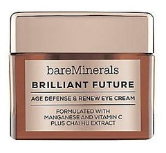Bare Minerals Brilliant Future Age Defense And Renew Eye Cream .5 Oz