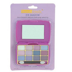 BEAUTY TREATS  12 COLOR EYESHADOW KIT PURPLES-PURPLE