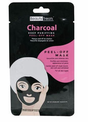 Beauty Treats Charcoal Deep Purifying Peel-Off Mask 0.33 Oz