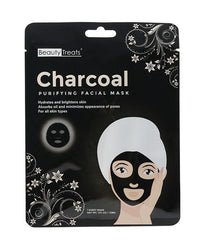 Beauty Treats Charcoal Purifying Facial Mask 1.0 Oz