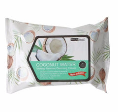 Beauty Treats Makeup Cleansing Tissues-Coconut Water 30 Ct