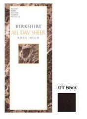 BERKSHIRE STYLE 6354 OFF BLACK KNEE/HIGH